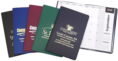 Promotional Distinctive Monthly Pocket Planners