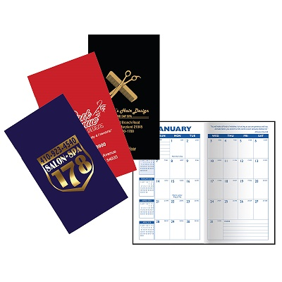 Promotional Cardstock Monthly Pocket Planners
