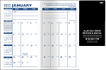 Cardstock Monthly Pocket Planners