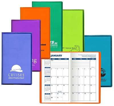 Promotional Translucent Monthly Pocket Planners