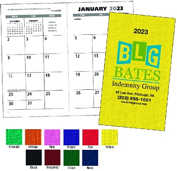 Value Monthly Pocket Planners