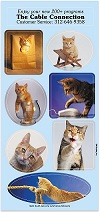 Sticker Sheets of Cats