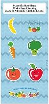 Fruits and Veggies Fun Sticker Sheets