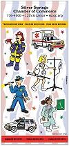 Rescue Hero Sticker Sheets