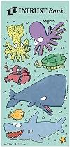 Sea Critters Fun Sticker Sheets