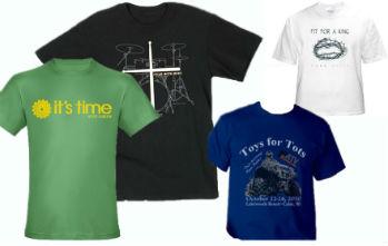 Personalized, Custom Printed Tshirts