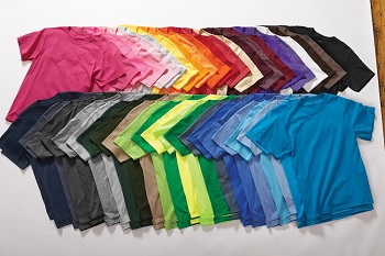 Different Color T-Shirts