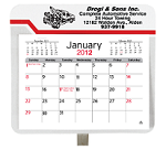 Custom Printed Visor Calendars - Large Truck and Car Calendars
