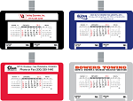 Custom Printed Visor Calendars - Small Truck and Car Calendars