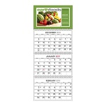 Three Month at a Glance Calendars