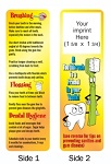 Dental Care Bookmark with Custom Imprint