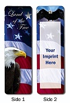 Schools and Universities - Stock Design Bookmark with Custom Imprint