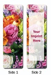 Stock Design Bookmark with Custom Imprint