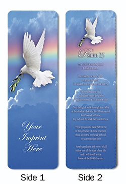 Personalized Inspirational Bookmark