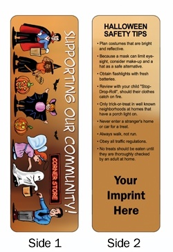 Halloween Safety Tips Bookmark