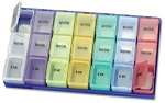 Promotional Medical Office - Morn/Noon/Eve Super Pill Organizer