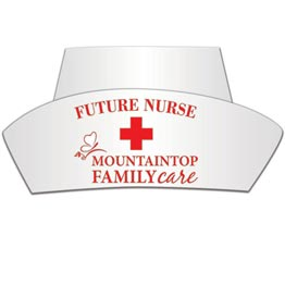 Promotional Personalized Nurses Hat