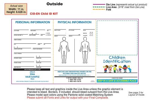 Child Identification Kit