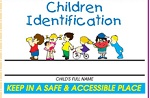 Promotional Medical Office - Child Identification Kits