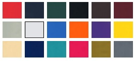 Vinyl Cover Colors for Easy First Aid Kits