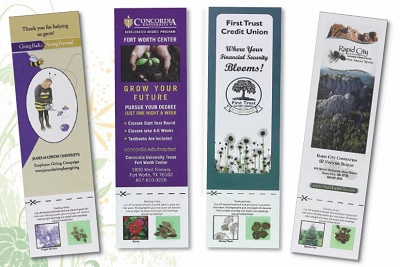 Personalized Bookmark with Seeds