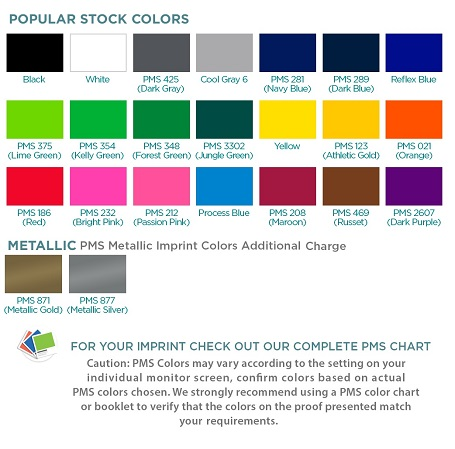 Standard Lanyard Colors