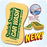 Jumbo Car Wash Compressed Sponges