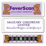 Thermometer Cards - Baby Bear Feverscan Thermometer