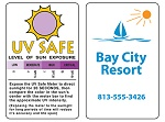 Fun, Fitness and Safety - Sun Exposure Monitoring Card