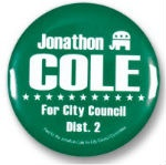 Election Campaign Button and Pins