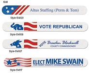 Custom Printed Political Campaign Emery Boards