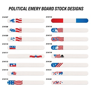 Political Emery Boards