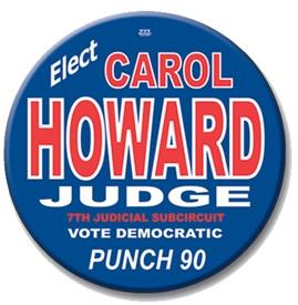 Custom Round Political Campaign Button