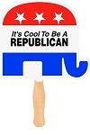 Political Campaign Hand Fans | Stock Design