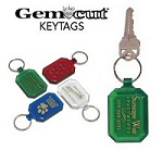 Plastic Customized Key Tags
