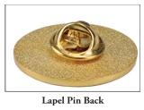 Lapel Pin Back