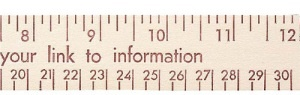 Custom Imprinted 12-inch Natural Finish Flat Wood Ruler