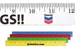 Measuring Devices - Twelve Inch Wooden Rulers