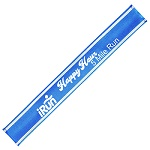 Custom Imprinted Nylon Reflective Snap Bands