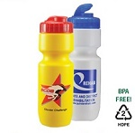 Custom Imprinted Drinkware - Plastic Sports Water Bottle