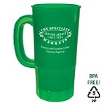 Custom Imprinted Drinkware - Personalized Large Plastic Steins