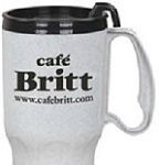 Custom Imprinted Promotional Auto Mug - 21 Oz