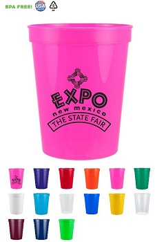 Discounted Promotional 16 oz Stadium Cups