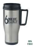 Promotional Drinkware - Customized Steel Mug