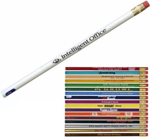 Personalized Round Pioneer Pencils