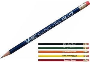 Refurbished Pencils with Customized Message
