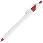White Barrel European Design Ballpoint Pen