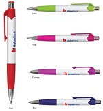 Promotional Customized Click Pens - Carnival Click Pen