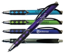 Metallic Jubilee Pen with Stylus