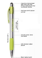 Promotional Customized Stylus Pens - Premium Stylus Click Pen
